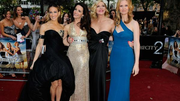 Sarah Jessica Parker, Kristin Davis, Kim Cattrall und Cynthia Nixon bei einem gemeinsamen Auftritt