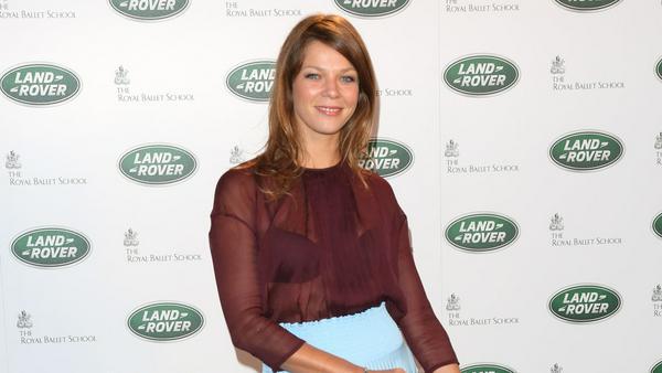 Jessica Schwarz auf einem Event in London