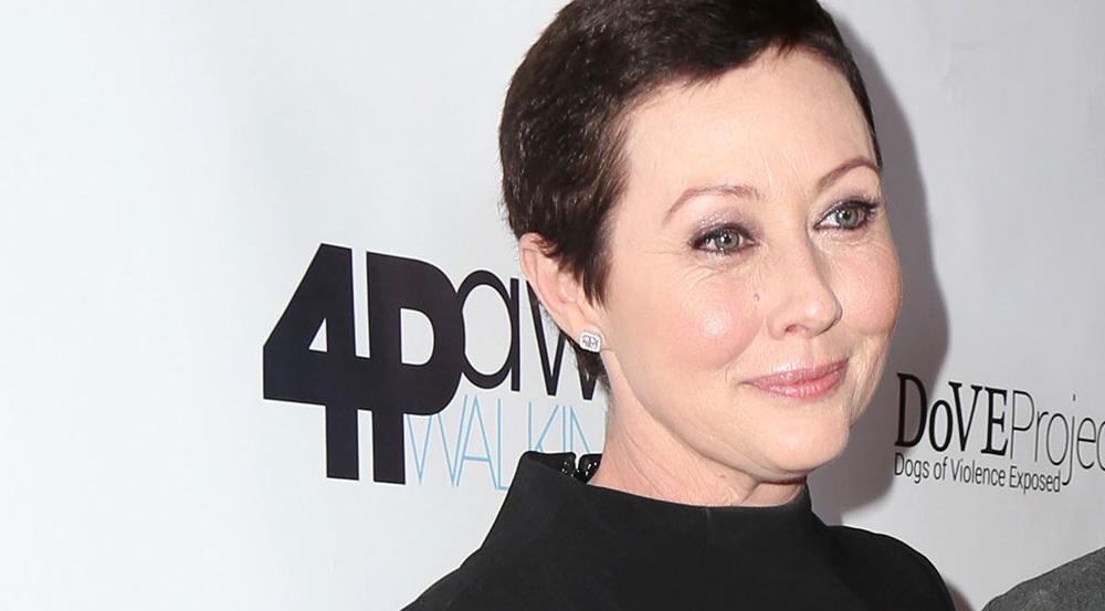 Shannen Doherty im März mit noch kürzeren Haaren