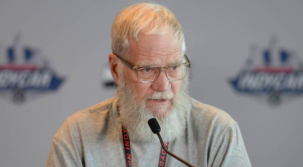 Nicht leicht zu erkennen: David Letterman trägt nun Bart