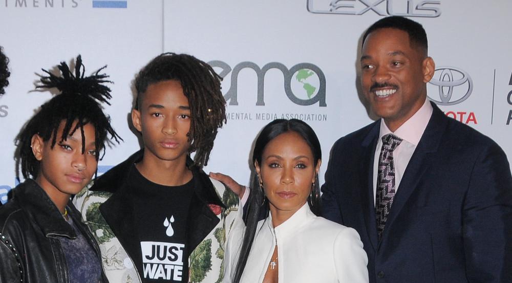 Jada Pinkett und Will Smith leben mittlerweile ohne die beiden Kinder Jaden und Willow (ganz links)