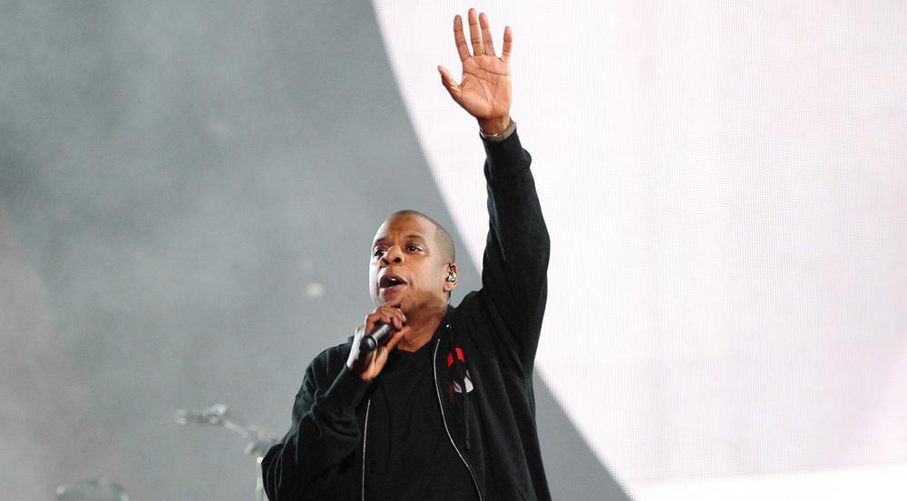 Jay Z bei einem Auftritt in New York