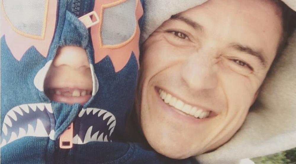 Flynn Christopher (l.) ist der Sohn von Orlando Bloom und seiner Ex-Frau Miranda Kerr