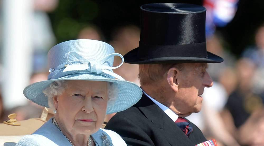 Die Queen und Prinz Philip bei