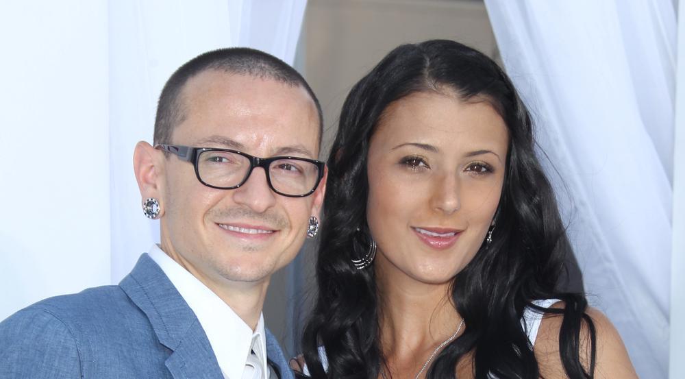 Chester Bennington mit seiner zweiten Ehefrau Talinda