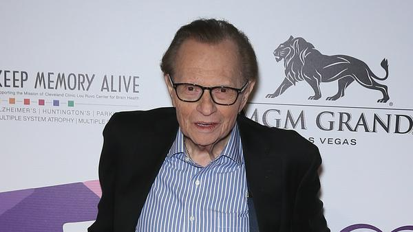 Larry King hat seine Krebs-Diagnose erst verheimlicht