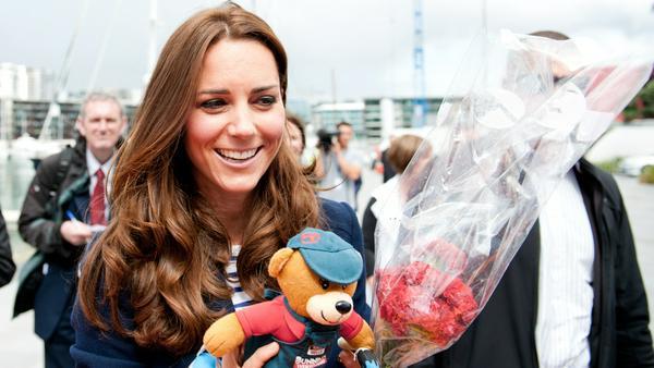 Herzogin Kate ist schwanger mit Baby Nummer drei