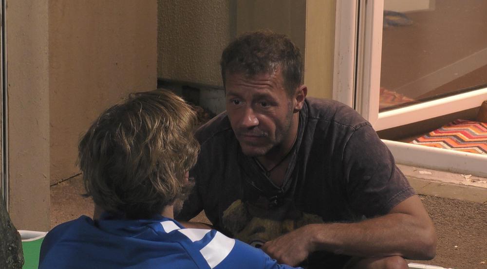 Willi im Gespräch mit Jens