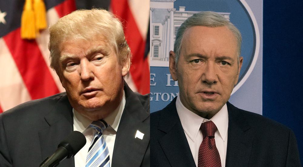 Donald Trump oder Frank Underwood (Kevin Spacey): Wer ist der bessere Präsident?
