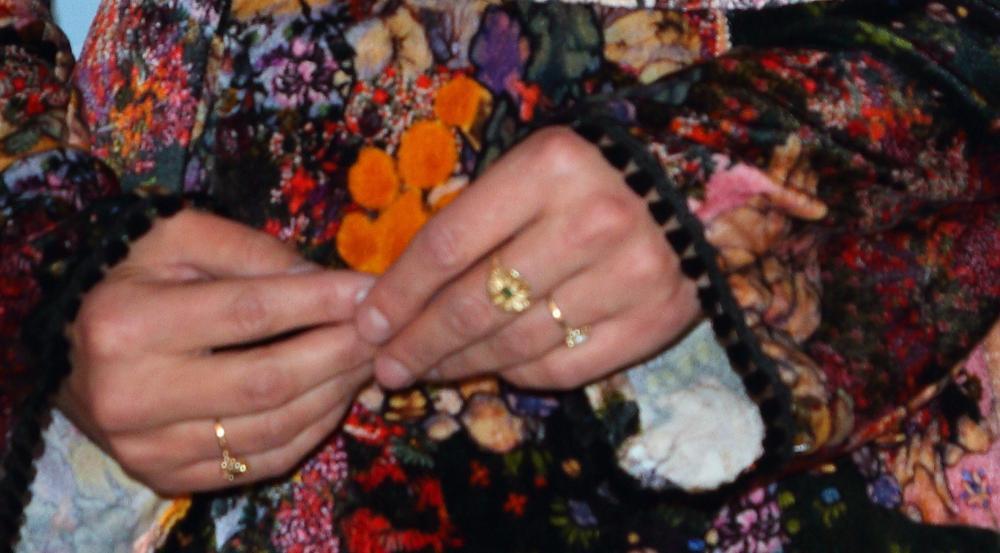 Der besagte Ring in Nahaufnahme