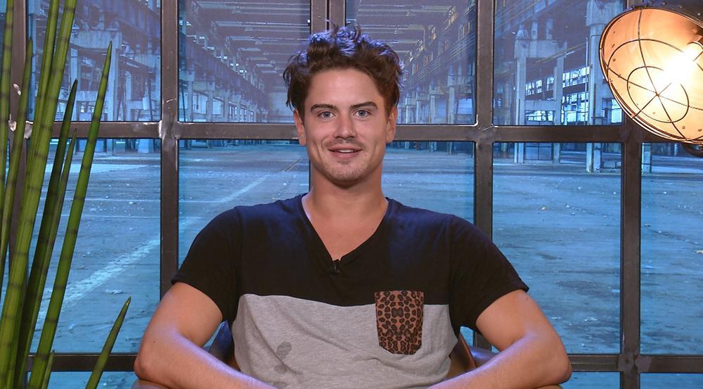 Musste als erster Finalist das Haus verlassen: Dominik Bruntner