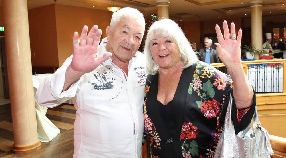 Müssen eisern sparen: Gus Backus und seine Frau Heidelore