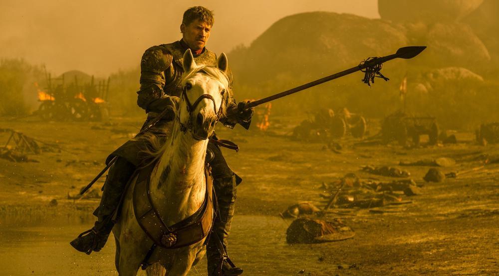 Jaime Lennister muss der beste Schwimmer von Westeros sein