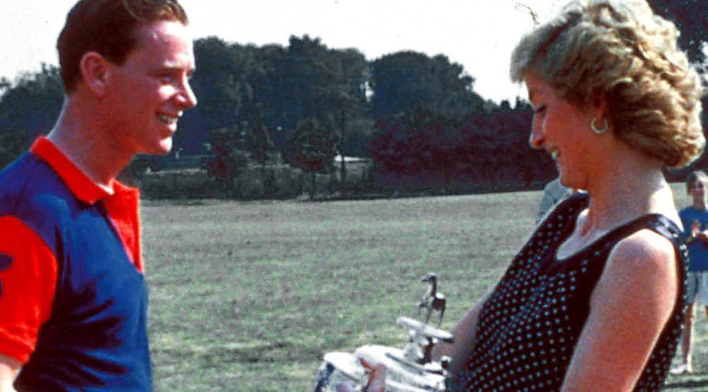 August 1989: Eine strahlende Diana mit James Hewitt