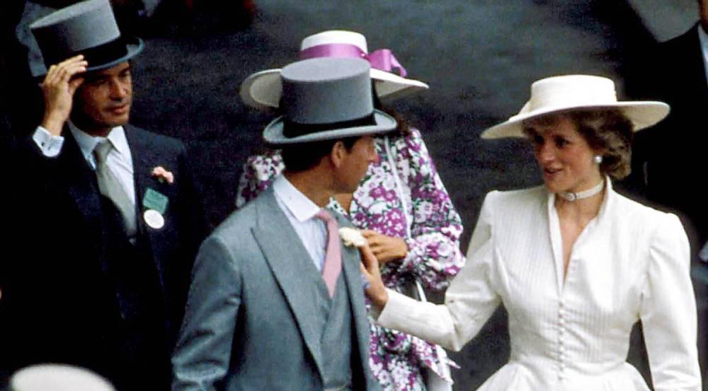 Diana und Hoare in Ascot
