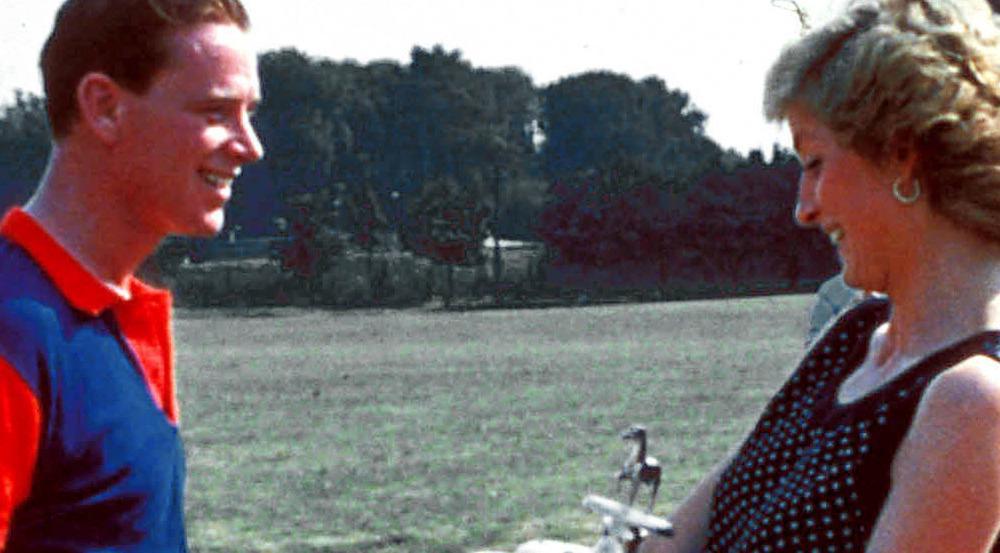 Diana mit ihrem Liebhaber James Hewitt