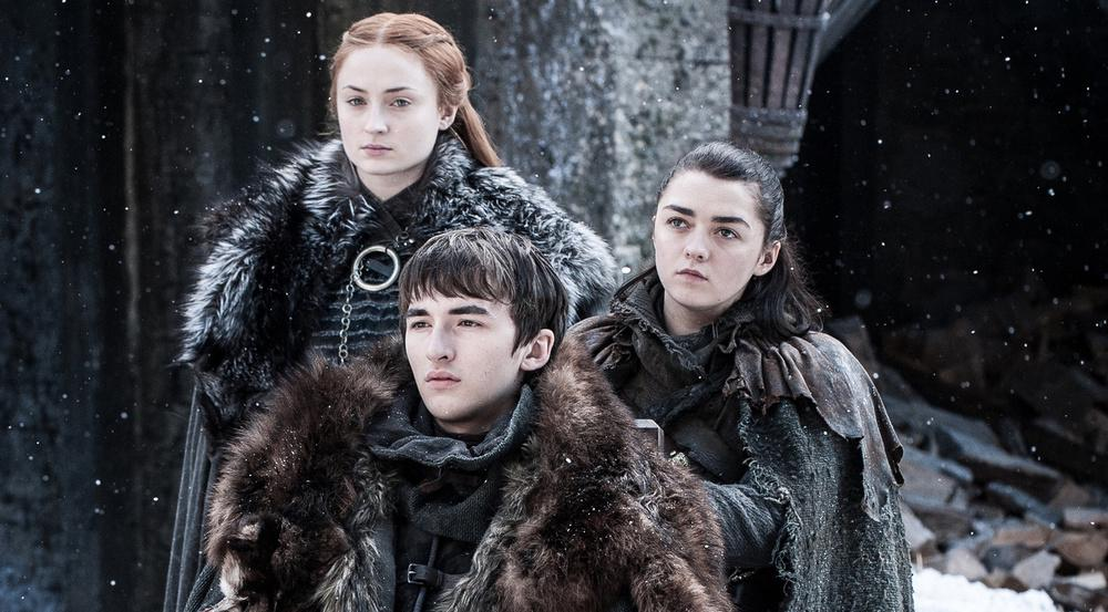 Drei Starks wieder vereint in Winterfell