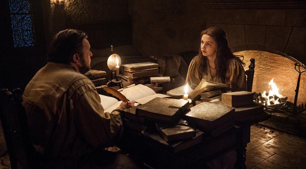 Hat Goldy (Hannah Murray) ihrem Sam (John Bradley) hier gerade ein Geheimnis ausgeplaudert?