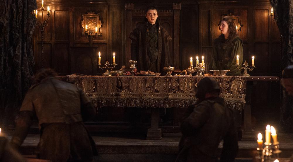Der Überraschungseffekt der Arya Stark (Maisie Williams)