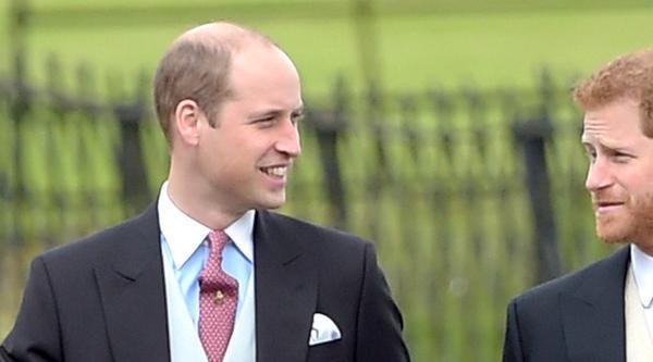 Prinz William (l.) mit seinem Bruder Harry