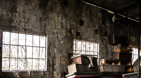 Wenn man es nicht besser wissen würde, könnte man meinen, dies sei eine alte Lagerhalle