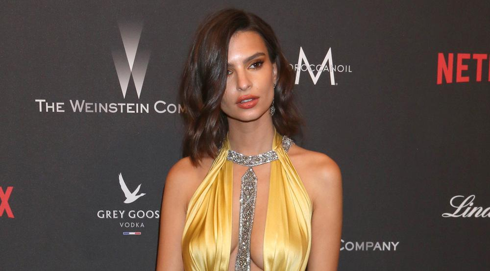Emily Ratajkowski im Januar 2017 bei der Weinstein und Netflix Golden Globe After Party in Los Angeles
