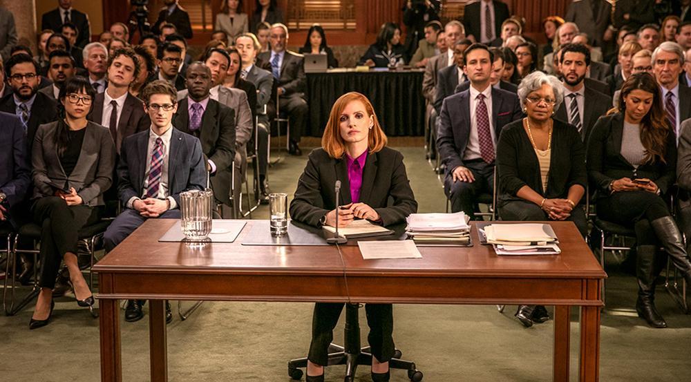 Mit ihrer rabiaten Art hat sich Elizabeth Sloane (Jessica Chastain) viele Feinde gemacht
