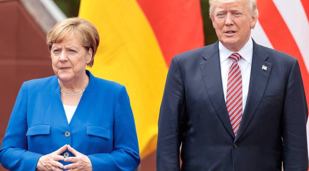 Merkel und Trump treffen auch beim Gipfel in Hamburg aufeinander