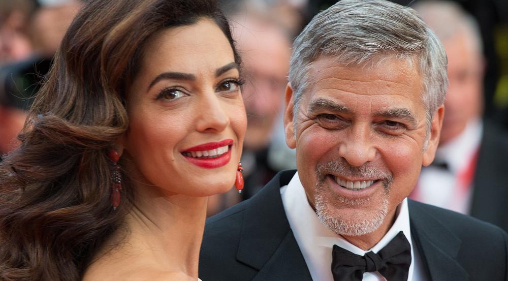 George und Amal Clooney sind im Juni Eltern geworden