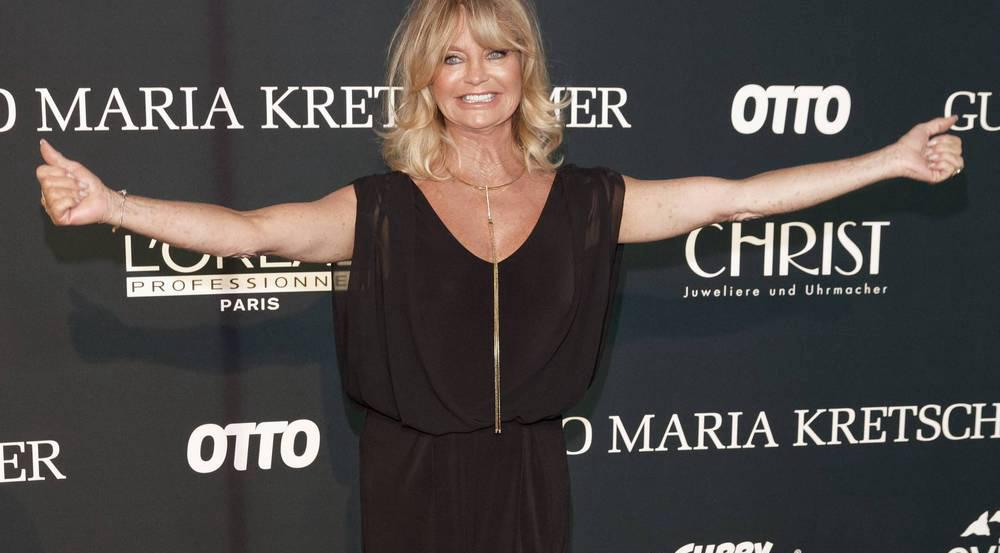 Goldie Hawn bei der Berlin Fashion Week