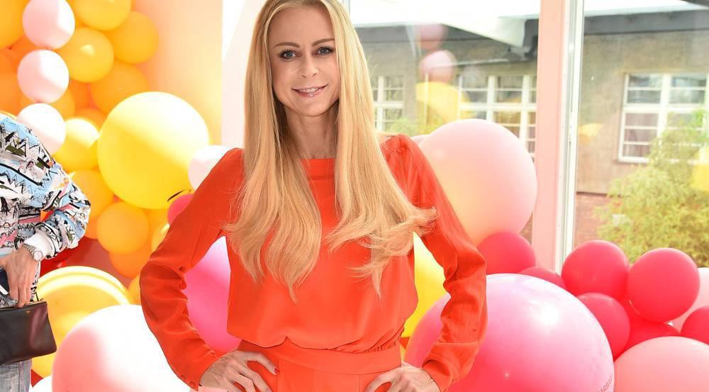 Jenny Elvers beim Gala Fashion Brunch in Berlin
