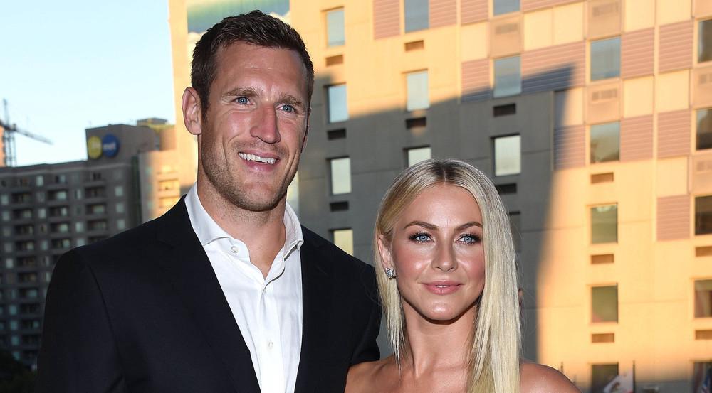 Jetzt sind sie ein Ehepaar: Schauspielerin Julianne Hough und Eishockeyspieler Brooks Laich