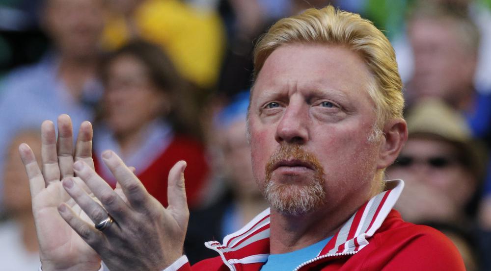 Boris Becker bei den Australian Open im Januar 2016