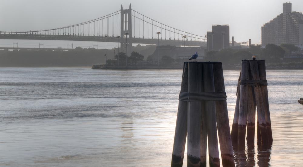Auch eine glorreiche Stadt wie New York hat ihre Schandflecken. Einer befindet sich in der Nähe der Robert F. Kennedy Bridge