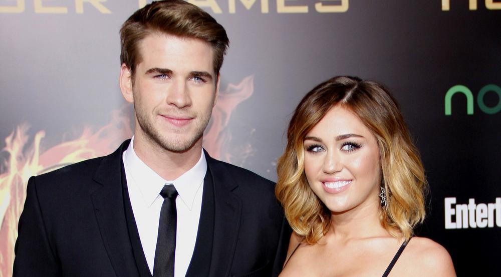 Liam Hemsworth und Miley Cyrus im Jahr 2012 bei der Premiere von