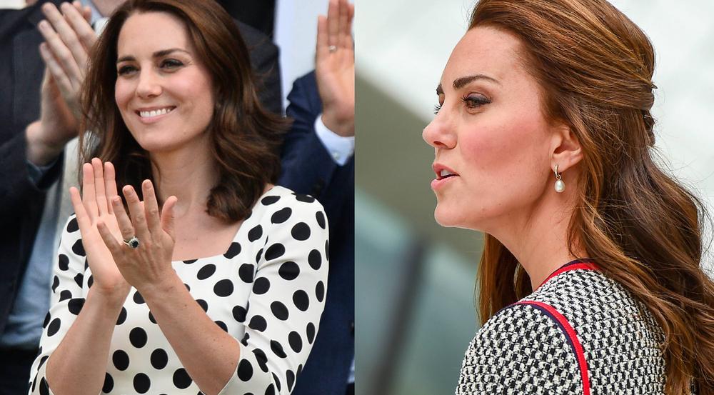 Herzogin Kate präsentierte in Wimbledon sichtbar kürzere Haare