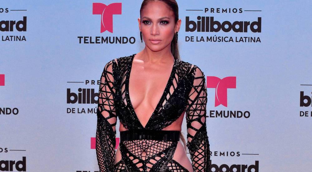 Sexy Auftritt von Jennifer Lopez