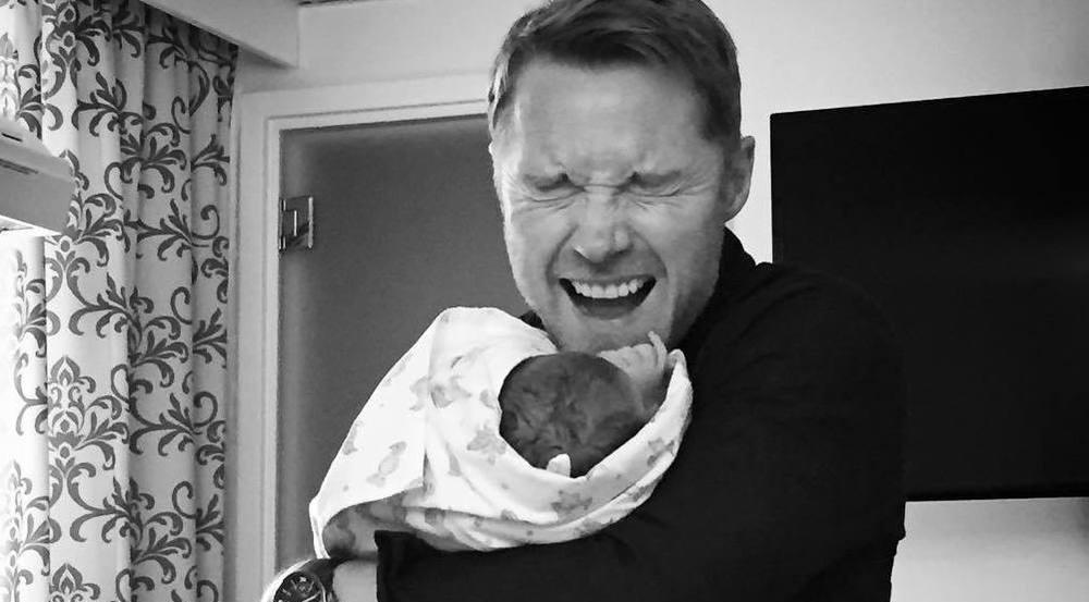 Ronan Keating und sein Sohn