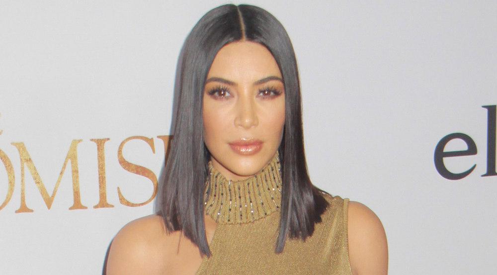 Kim Kardashian bei der Premiere von