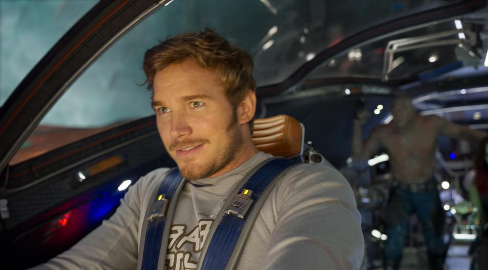 Chris Pratt als Peter Quill bzw. Star-Lord in