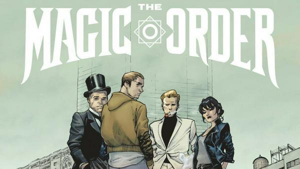 """So wird das Cover der ersten Ausgabe von """"The Magic Order"""" aussehen"""
