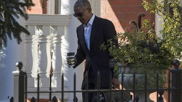 Barack Obama auf dem Weg zum Geschworenendienst