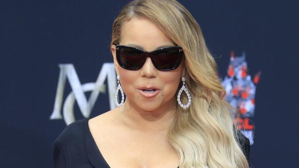 Mariah Carey bei einem Auftritt in Los Angeles