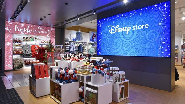 Der Disney Store in der Neuhauser Straße in München ist ab sofort geöffnet