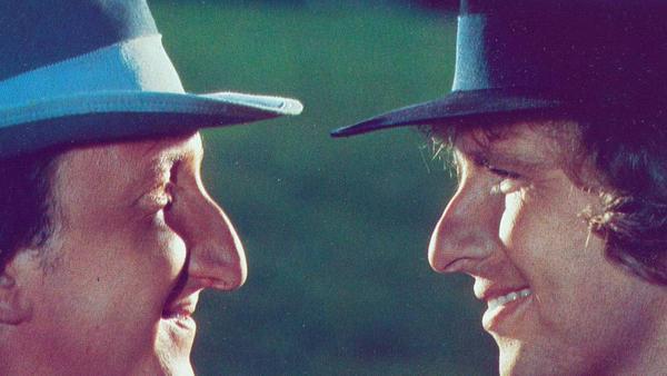 """Die """"Supernasen""""-Filme mit Mike Krüger (l.) und Thomas Gottschalk (r.) waren in den 1980er Jahren sehr erfolgreich"""