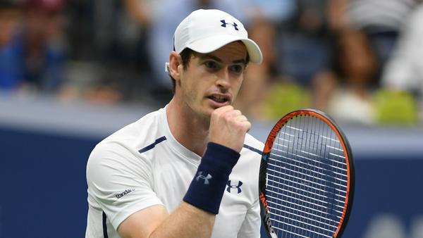 Andy Murray freut sich nicht nur auf dem Platz
