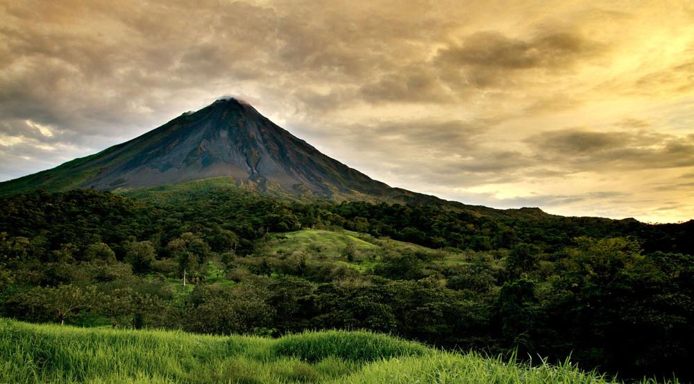 Majestätisch: Der Vulkan Arenal im Norden Costa Ricas