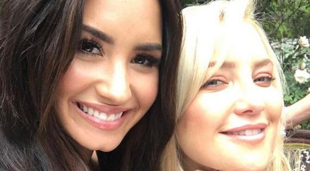 Demi Lovato hat Activewear für Kate Hudsons Fitnessmarke