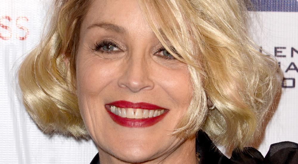 Sharon Stone hat eine verfrühte Muttertagsüberraschung von ihren Söhnen bekommen