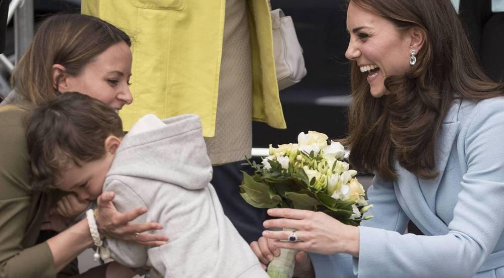 Große Wirkung auf den kleinen Mann: Herzogin Kate in Luxemburg